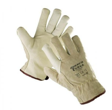 HERON WINTER LEATHER GLOVES
