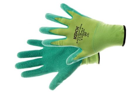 GROOVY GREEN - green NYLON GLOVES