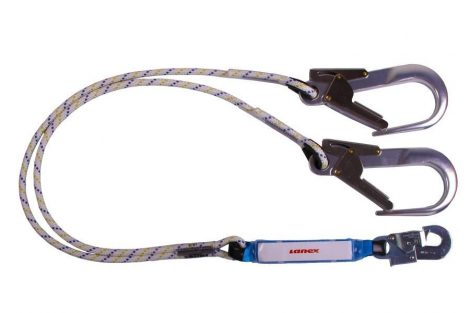 PSA2LT22L Double - ROPE WITH KARABINER 50 MM