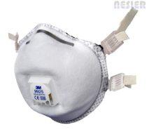 3M csésze formájú aktívszenes szelepes FFP2-es maszk szerves gőzök és ózon ellen