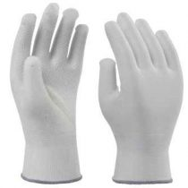 PVC SPOTTED POLYESTER KNITTED GLOVES