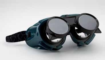 Lánghegesztő Schutzbrille felhajtható lencsével