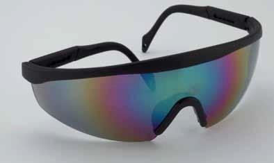 Polikarbonát sötétített látogatói szemüveg állítható kerettel ... 470c524290