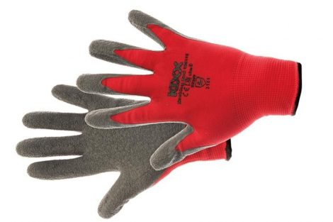 ROCKING RED - RED NYLON GLOVES