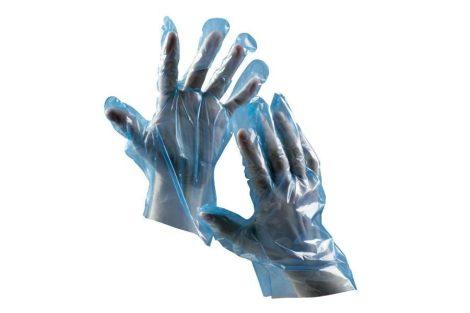 DUCK BLUE POLIETILÉN GLOVES - DISPOSABLE