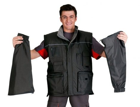 "LIBRA ""2 IN 1"" WATER RESISTANT LINED JACKET"