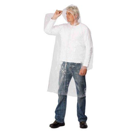 PE többször használható könnyű esőköpeny