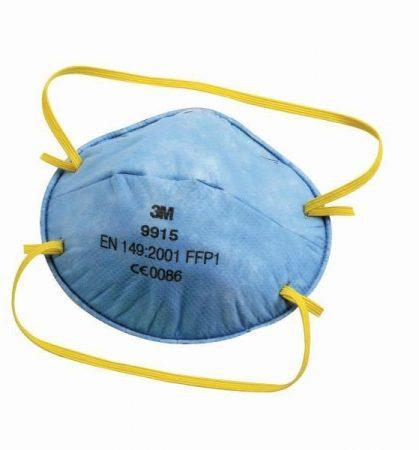 3M 9915 részecskeszűrő FFP1, savanyú gázok ellen