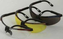 Látogatói szemüveg állítható kerettel, gumi orrnyereggel