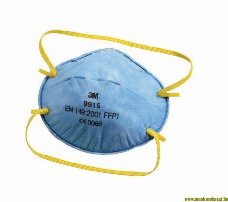 3M csésze formájú aktívszenes FFP1-es maszk savas gázok ellen