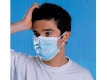 Kétrétegű egészségügyi maszk