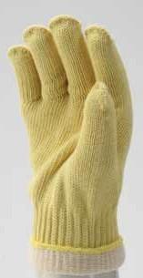 Kétrétetű gefüttert kötött kevlár handschuh