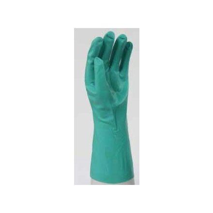 Grün ipari chemikalienbeständig nitrilhandschuh
