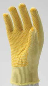 POKEV KNITTED, SPOTTED KEVLAR GLOVES