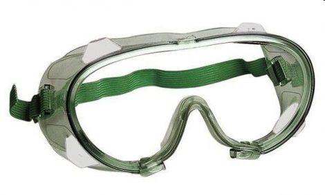Saválló víztiszta polikarbonát védőszemüveg